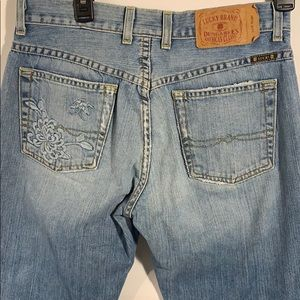 Lucky women's jeans easy rider Distressed 4/27